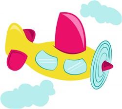 Toy Airplane print art