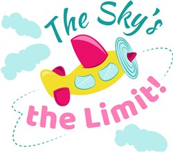 Skys The Limit print art