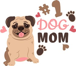 Pug_#1_Dog_Mom print art