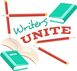 Writers Unite print art