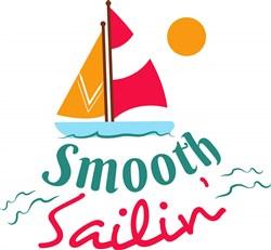 Smooth Sailin print art