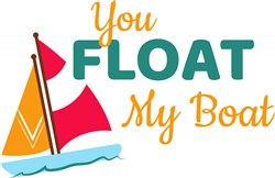 Float My Boat print art