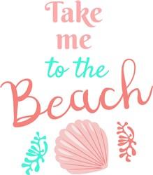 To The Beach print art