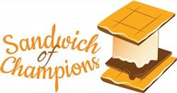 Sandwich Of Champions print art