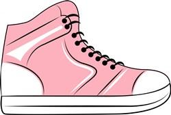 Pink Sneaker print art