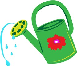 Watering Can print art