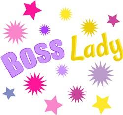 Boss Lady print art