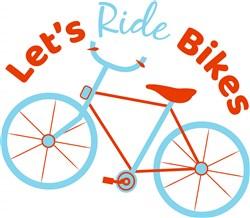 Blue_Bike_Let s_Ride_Bikes print art