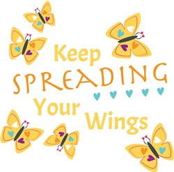 Spreading Your Wings print art