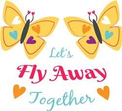 Fly Away print art