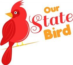State Bird print art