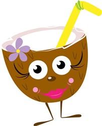 Coconut Drink print art