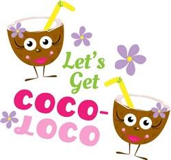 Coconut_Drink_Let s_Get_Coco_Loco print art