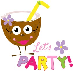 Lets Party print art