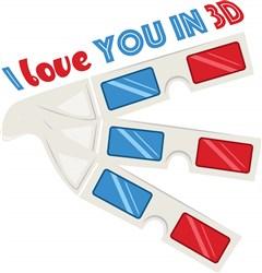 Love You In 3D print art