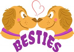 Dog Besties print art