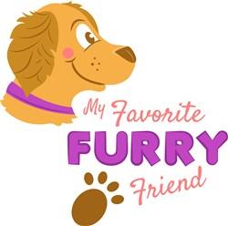 Furry Friend print art