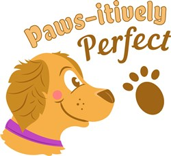 Paws-itively Perfect print art