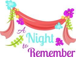 Night To Remember print art