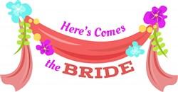 Here Comes Bride print art
