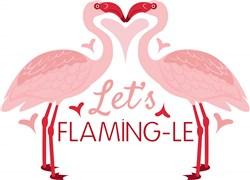 Lets Flaming-le print art