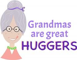 Grandma Huggers print art