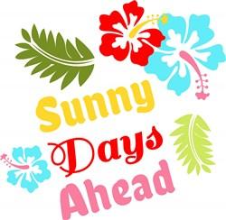 Sunny Days Ahead print art
