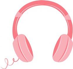 Headphones print art