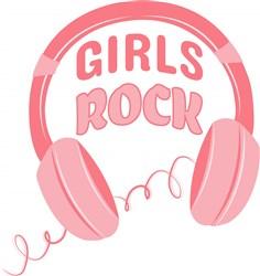 Girls Rock print art