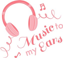 Music To My Ears print art