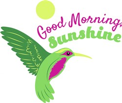 Good Morning Sunshine print art