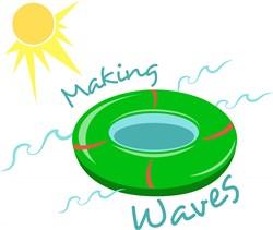 Making Waves print art