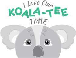 Our Koala-tee Time print art