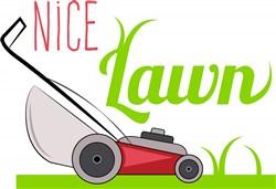NIce Lawn print art