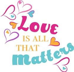 Love Matters print art