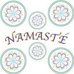Namaste print art