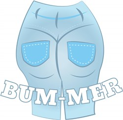 BUM-MER print art