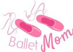Ballet Mom print art