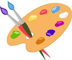 Paint Palette print art