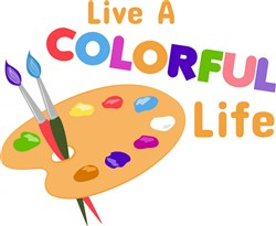 Colorful Life print art
