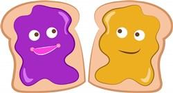 PB&J Sandwich print art