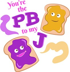 The PB To My J print art