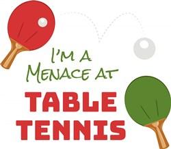 Table Tennis print art