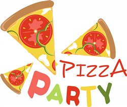 Pizza Party print art