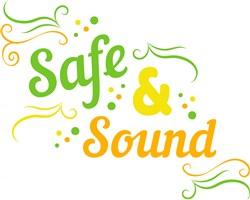 Safe & Sound print art