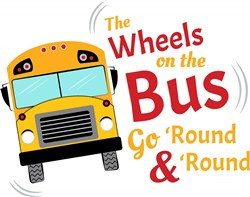 Wheels On The Bus print art