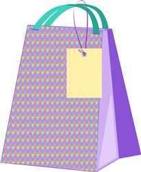 Shopping Bag print art
