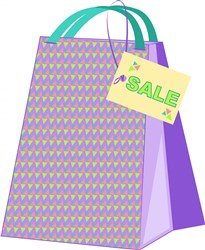 Shopping Bag SALE print art
