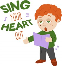 Sing Heart Out print art