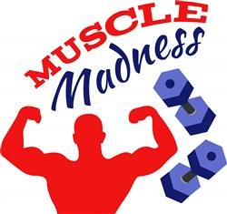 Muscle Madness print art